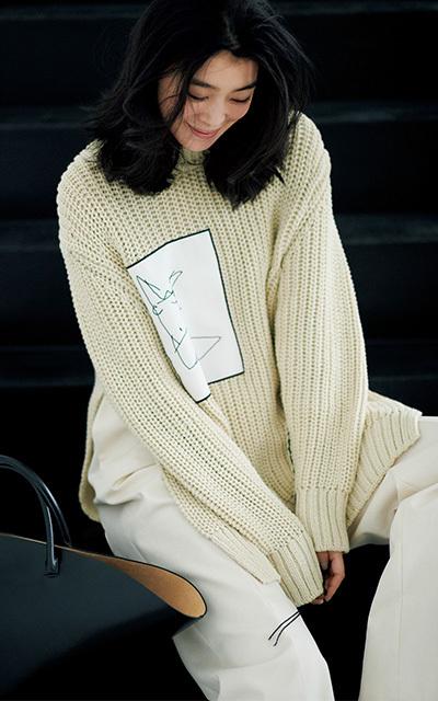 <ジル・サンダー>凛とした女性こそ似合う、シンプルでミニマルなデザイン【身体の一部のハイブランド服】_1_1
