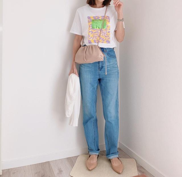 やっぱり!結局!GU神デニム♡♡【momoko_fashion】_1_2