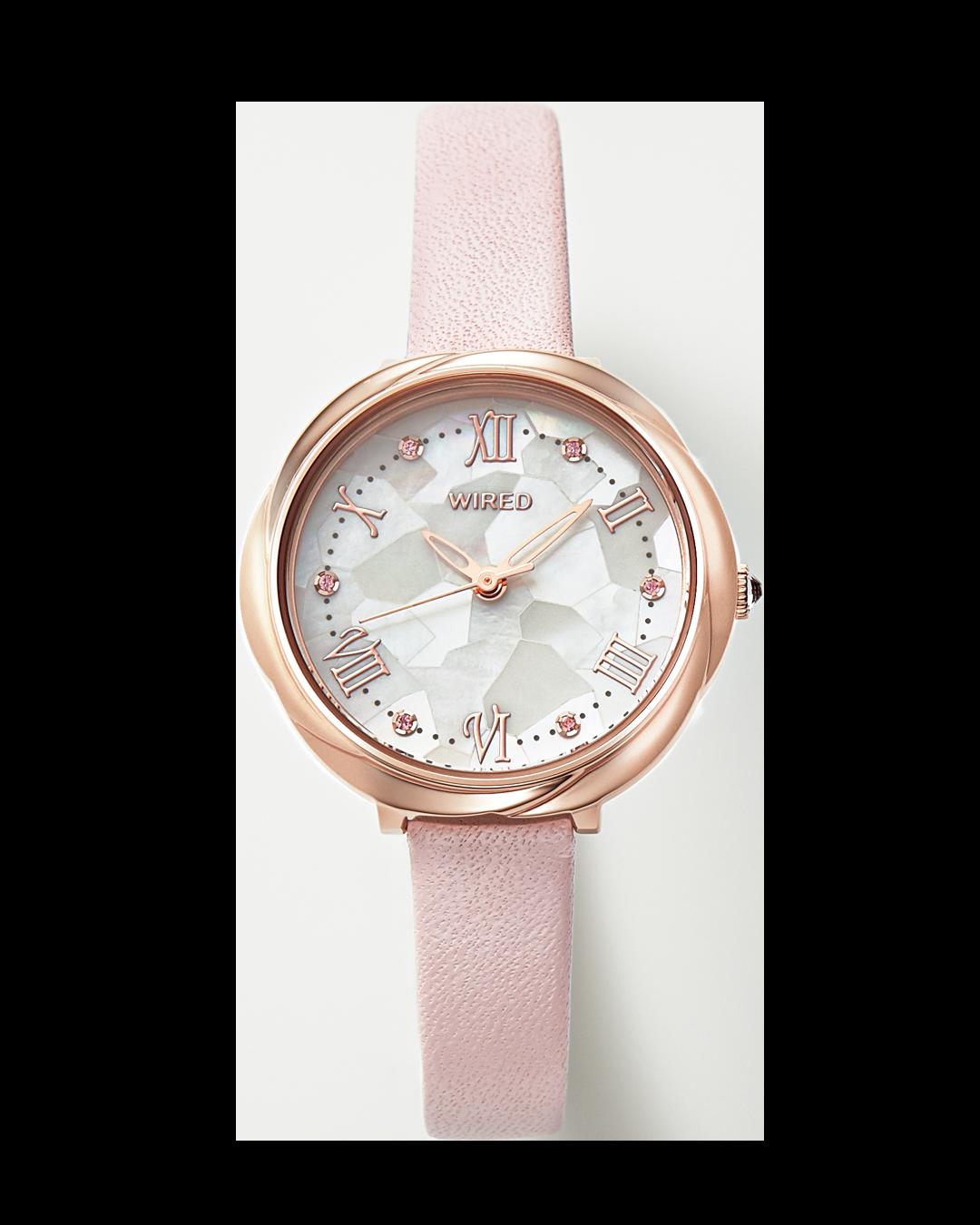 花モチーフのWIRED f(ワイアード エフ)が私の相棒♡ 清楚感も好感度も。決め手は腕時計!_1_7
