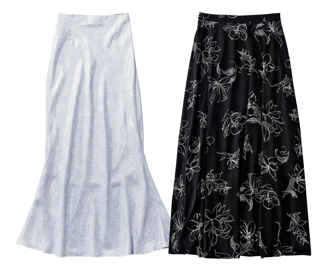 大学生が買ってよかったもの2021線画の花柄スカート