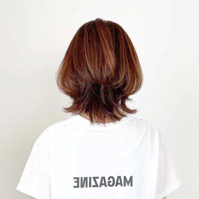 春夏最新!アラフォーくびれボブスタイル【tomomiyuヘア】_1_2