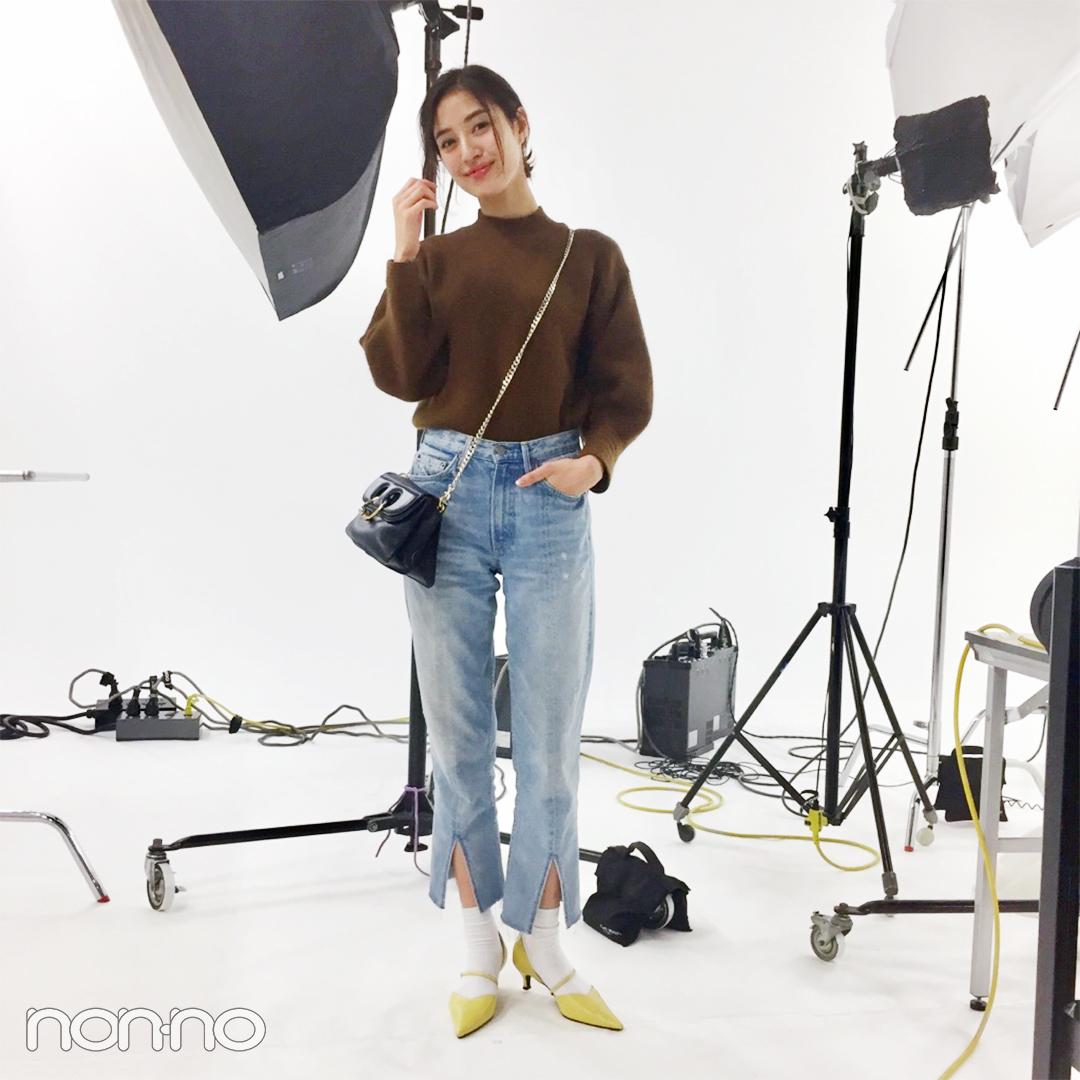 岡本あずさ|モデルの私服