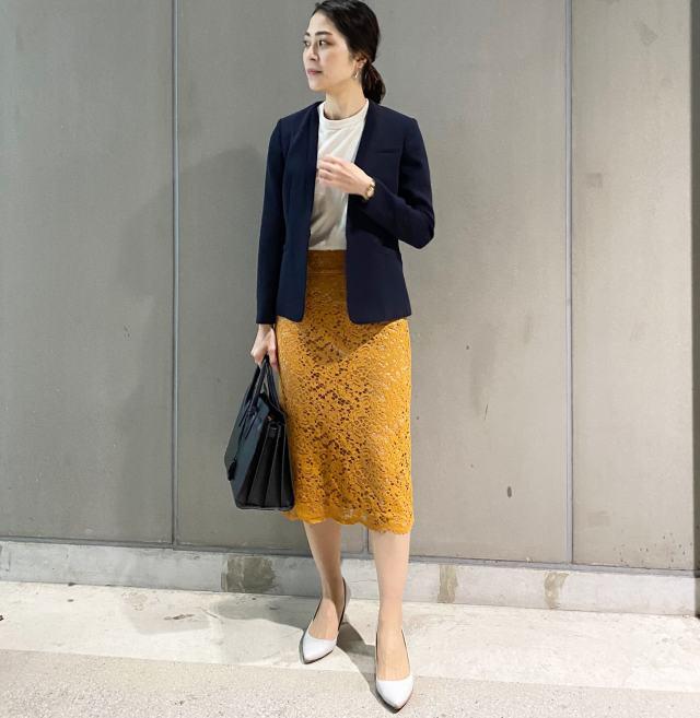 春靴×ジャケットで着回す。女っぷり通勤スタイル_1_3