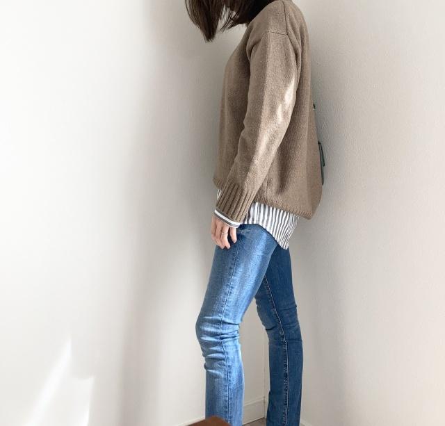初めてのUNIQLOメンズシャツ♡【momoko_fashion】_1_3-2