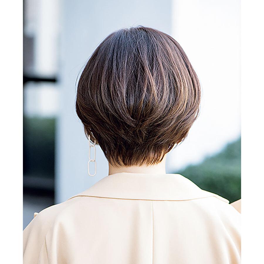 後ろから見た 人気ショートヘアスタイル1位の髪型