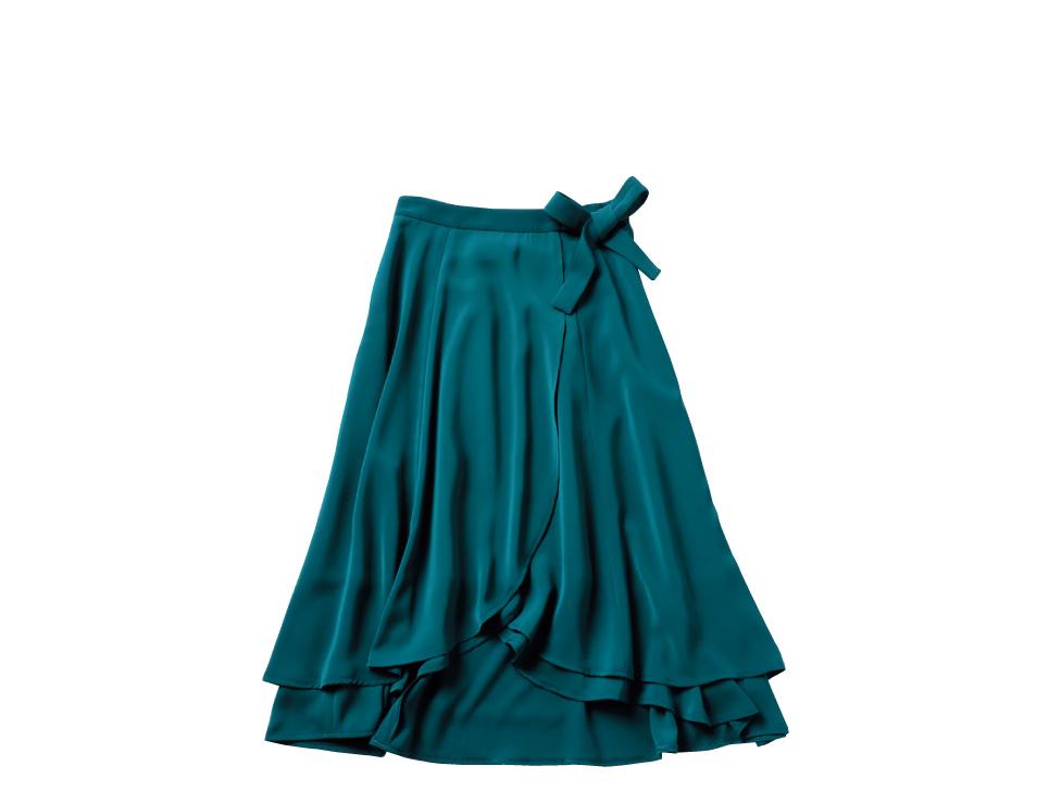 新木優子は、グリーンのスカートで秋コーデにシフト!_1_2-2