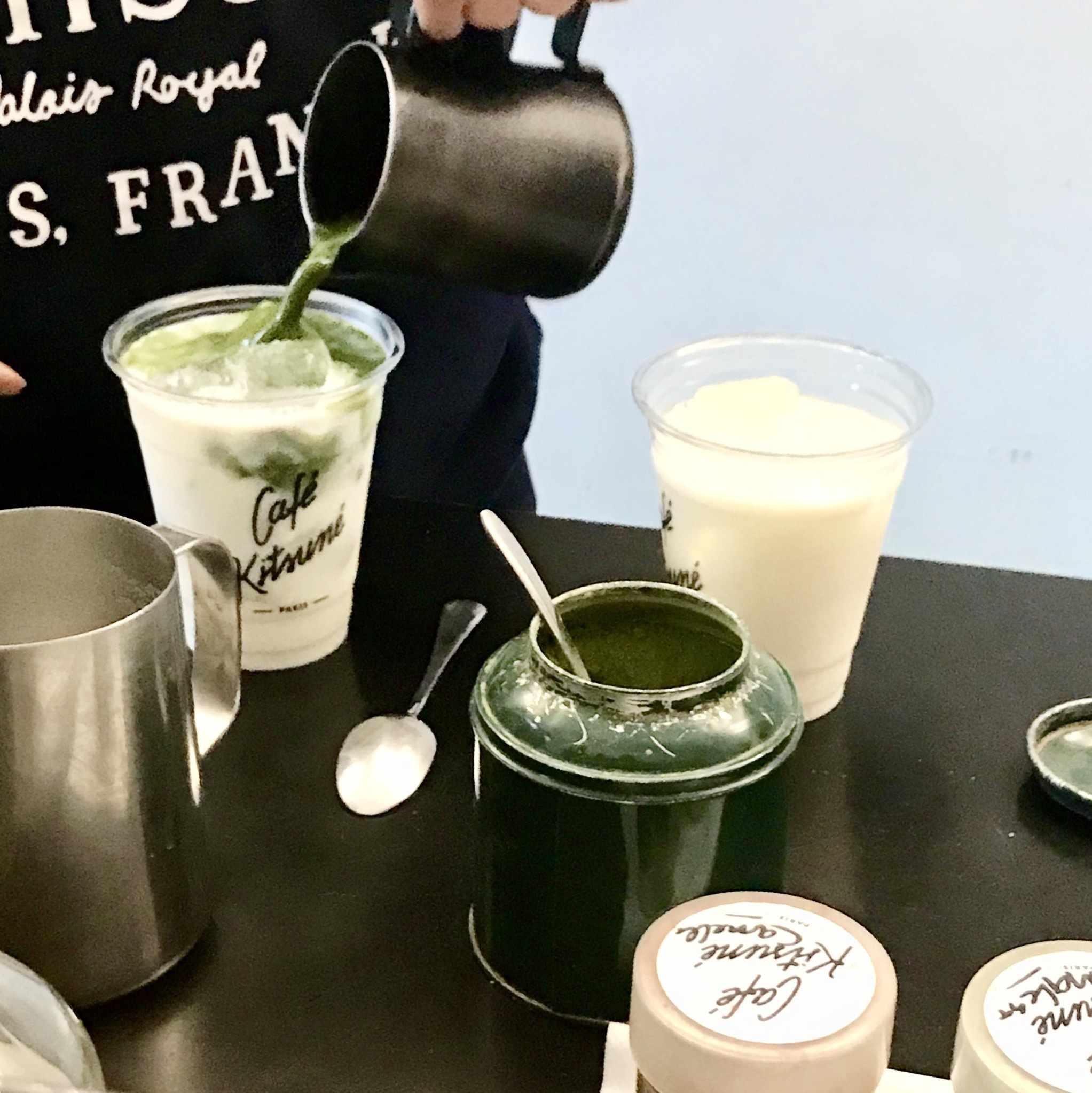 【抹茶】好き必見!Maison Kituné カフェの抹茶ラテを紹介します♡_1_3