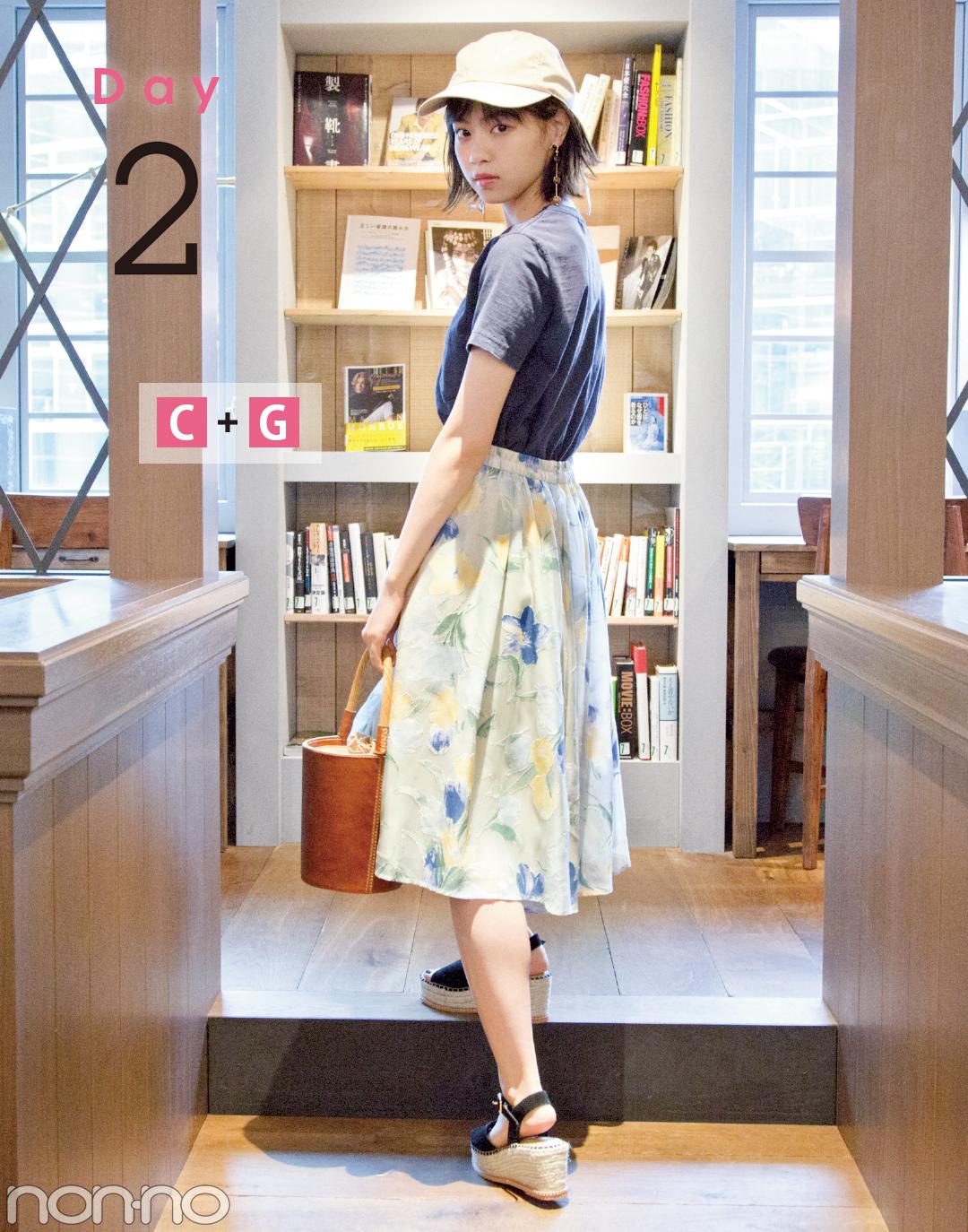 西野七瀬主演♡「4月の甘め服に5月の買い足し」でおしゃれ度アップ着回し5days!_2_2-1