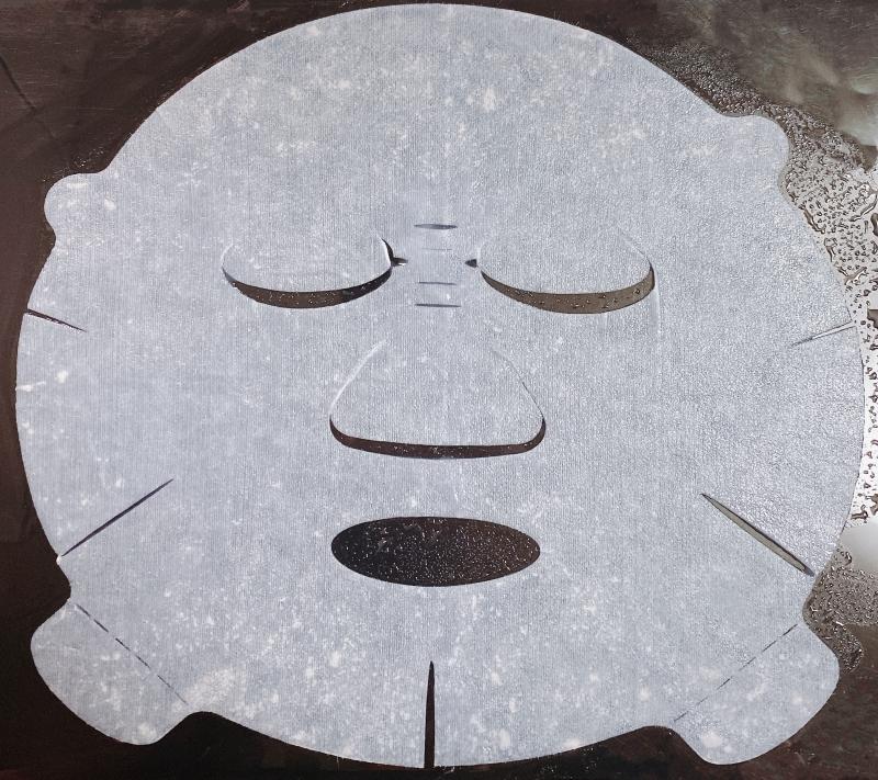 花王のキュレルの潤浸保湿モイストリペアシートマスクはシートの形に新しい工夫がある