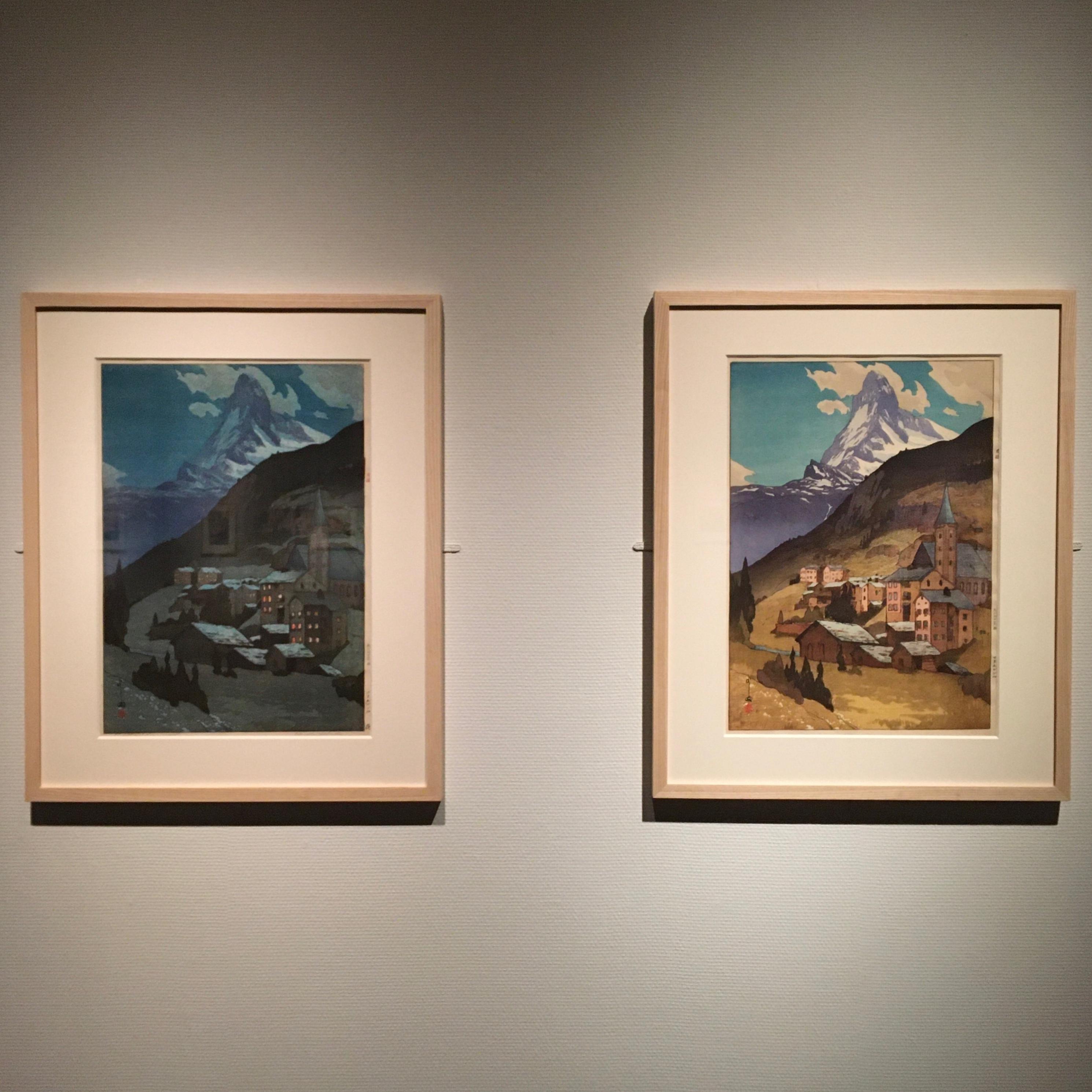 吉田博展で、木版画による世界旅行を。_1_2-2