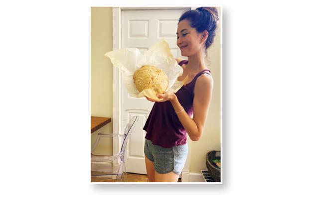 ブレンダのハワイ生活 パン作り