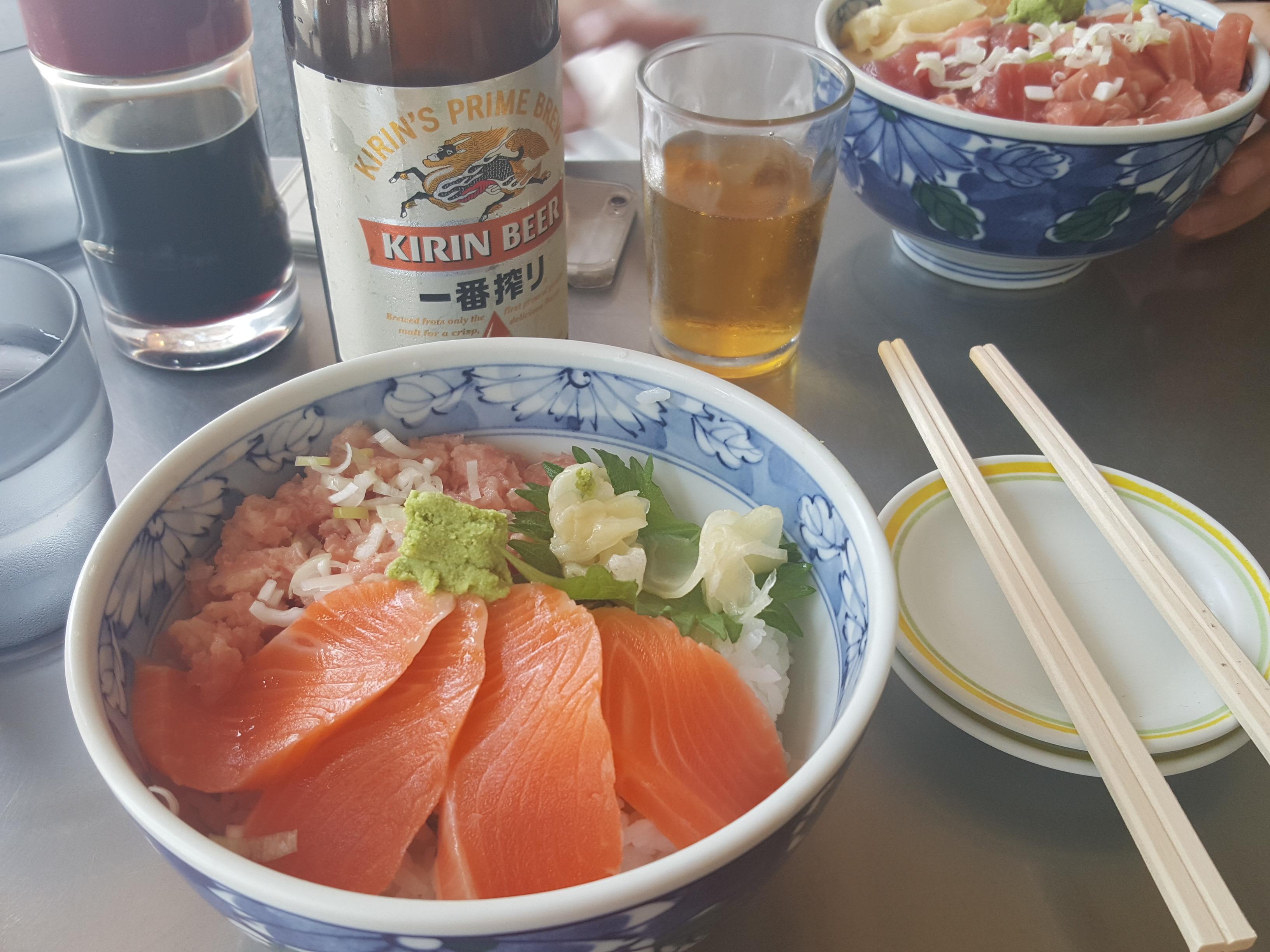築地で海鮮丼を食べました!_1_1