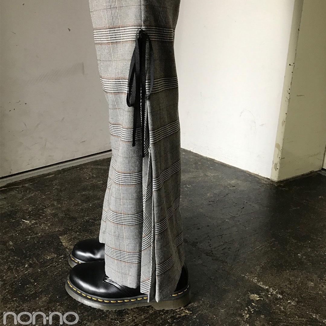 渡邉理佐はリリーブラウンのチェックパンツで今っぽコーデ!【モデルの私服】_1_2-1