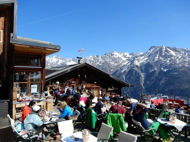 オーストリア アルプス 山小屋