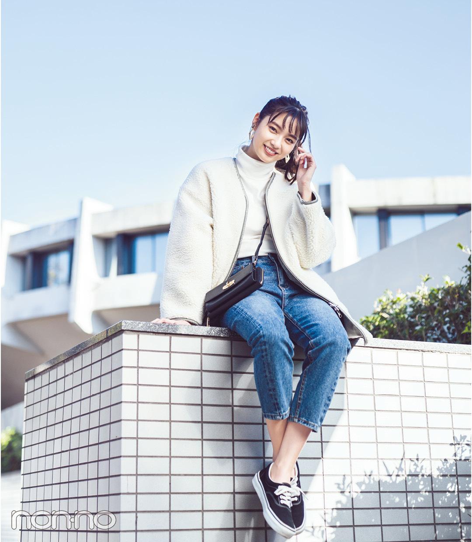 新川優愛のカジュアル私服 きれいめ私服をチェック モデルの私服