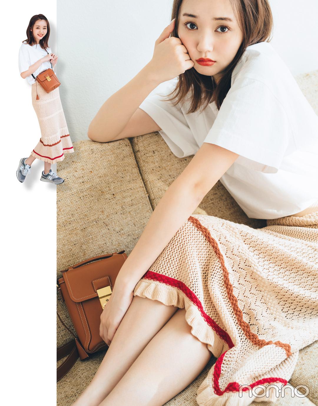 この夏、江野沢愛美は何を着る? ミックスカジュアルの達人の私服コーデを拝見!_1_2-3