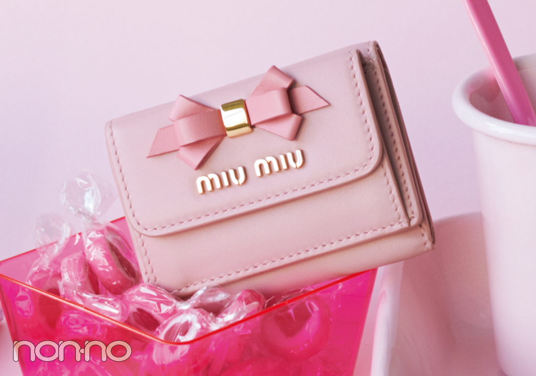 大人可愛いの大本命♡ ミュウミュウのミニ財布をチェック!【20歳からの名品】_1_3-2