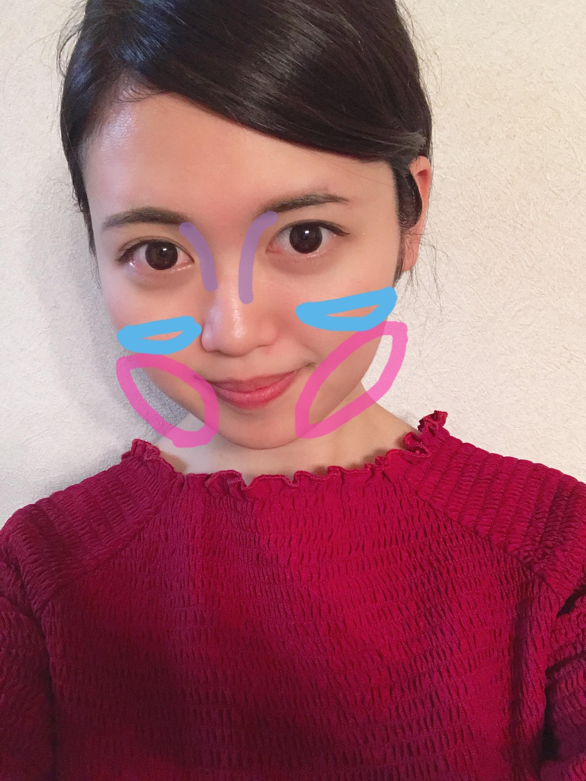 【600円で小顔シェーディング?!】丸顔の私が使っている小顔アイテム☺︎_1_3
