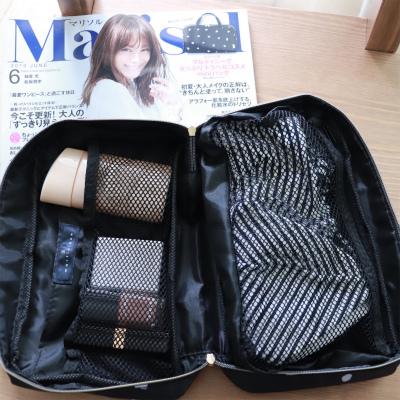 マリソル6月号の付録マルティニーク「女っぷりトラベルコスメminiバッグ」の使い方実例9