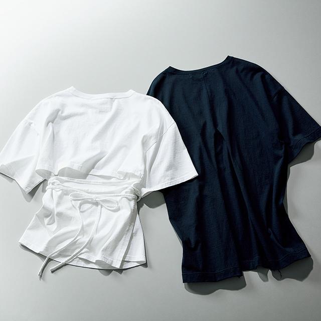 """アラフィーの体型の罠も解決。エクラ御用達ブランドの""""大人仕様Tシャツ"""" 五選_1_1-3"""