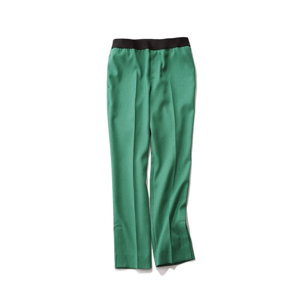 ファッション エムフィルのグリーンパンツ