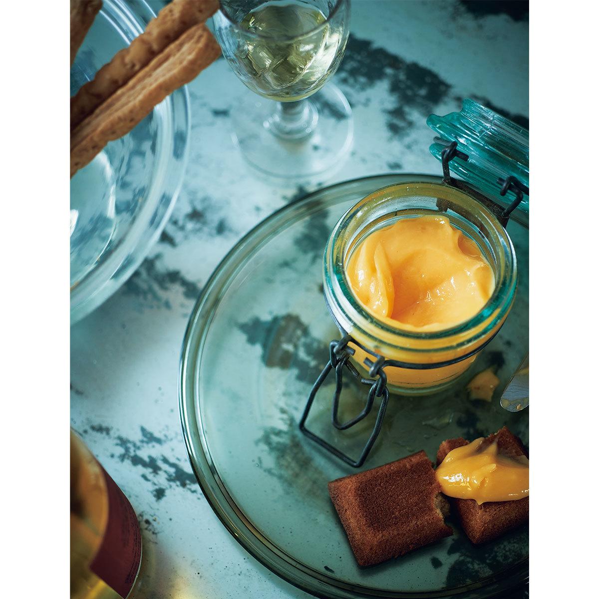 甘口ワイン ×柚子とレモンのクリーム1