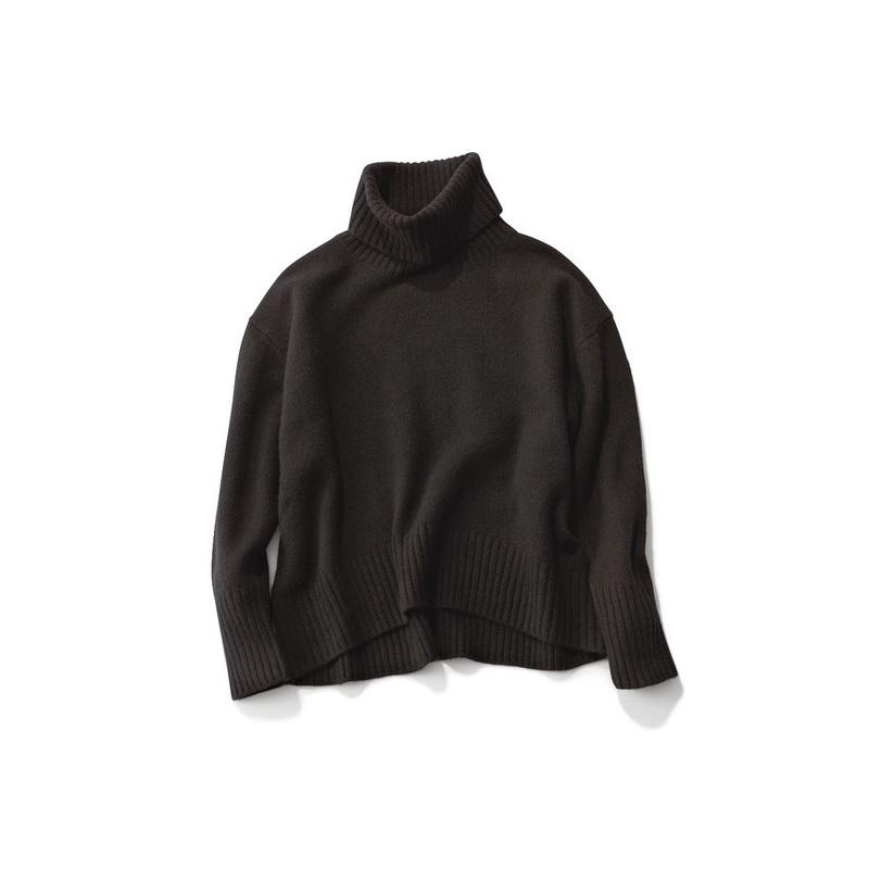 ファッション ステートオブマインドの黒タートルネック
