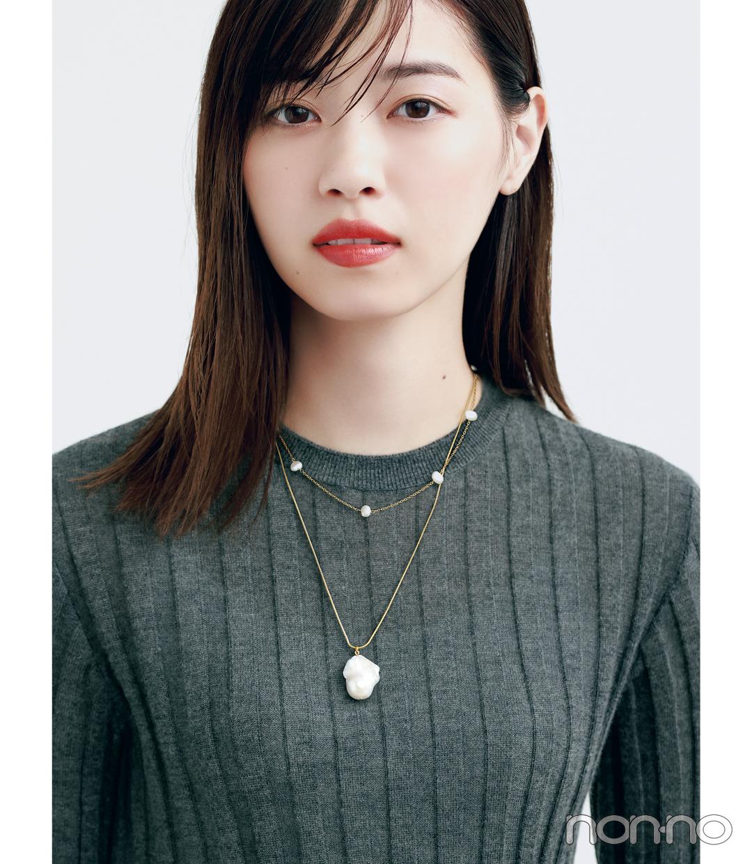 西野七瀬のジュエリーNEW WAVE モデルカット1-1