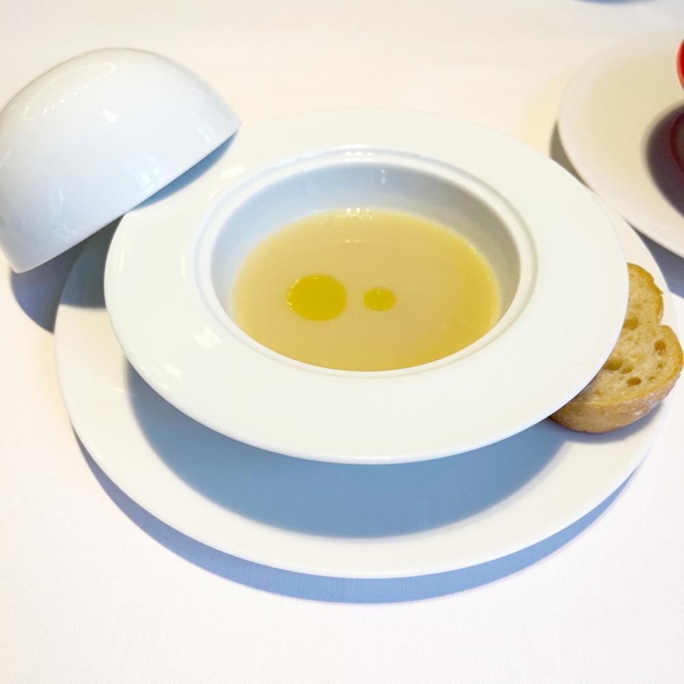 Blanc Rouge ブランルージュ 東京ステーションホテル スープ 蛤 蕪