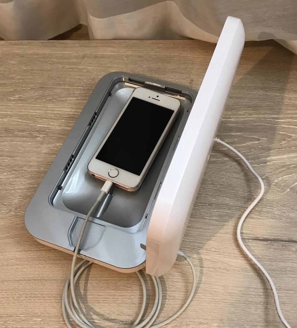 PHONESOAP スマホ充電しながら