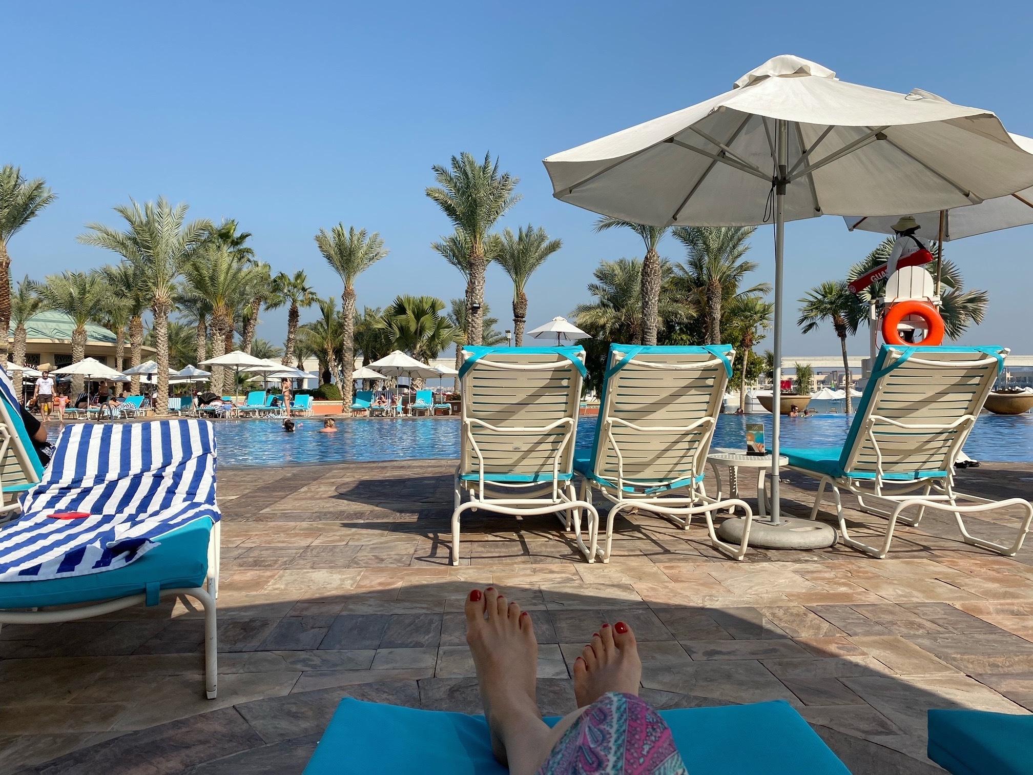 「ATRANTIS THE PALM」ホテルのお部屋&プライベートビーチ 〜ドバイ⑦〜_1_3