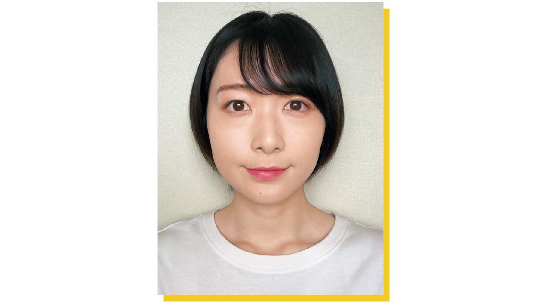 丸顔さん代表 non-noカワイイ選抜No.96 ゆきなさん before