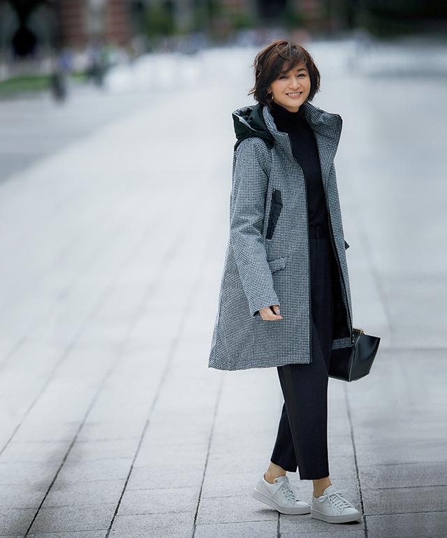 ウールコートの着やすさと ハイテクな機能性が両立