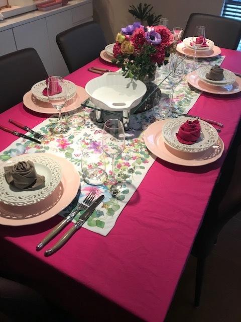 春はピンクのテーブルコーディネートでお料理を楽しく_1_1