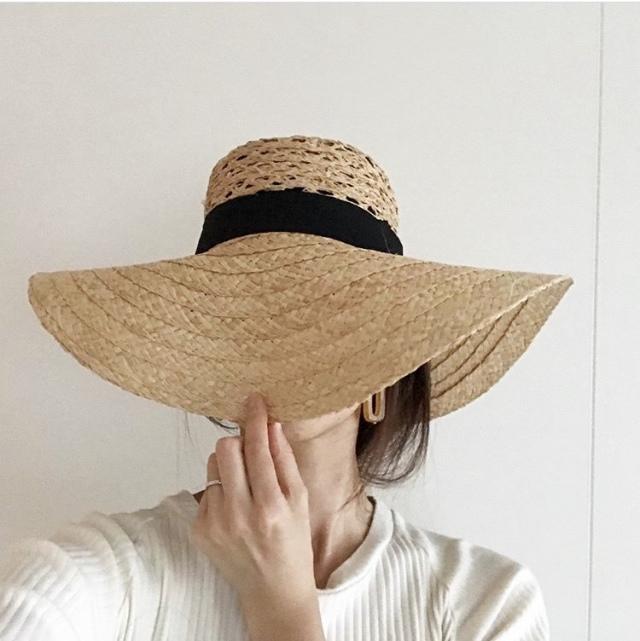 プチプラ帽子で日々のコーデにアクセントを【40代 私のクローゼット】_1_7