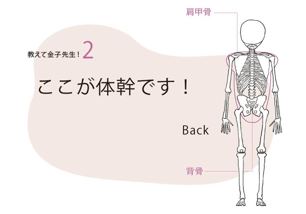 """アラフォーの""""しんどい""""の原因は、 体幹の固まり、ゆがみだった!【キレイになる活】_1_2-3"""
