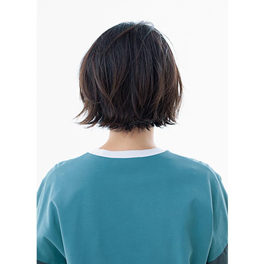 後ろから見た人気ボブヘアスタイル4位の髪型