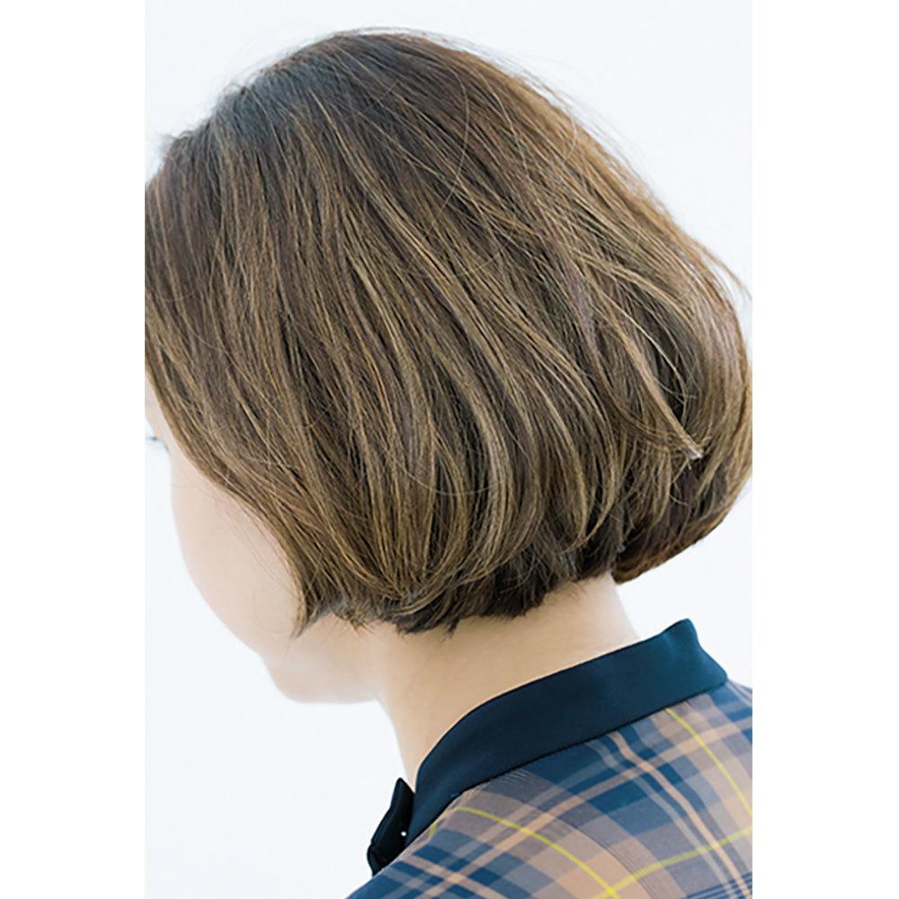 横から見た人気ボブヘアスタイル3位の髪型