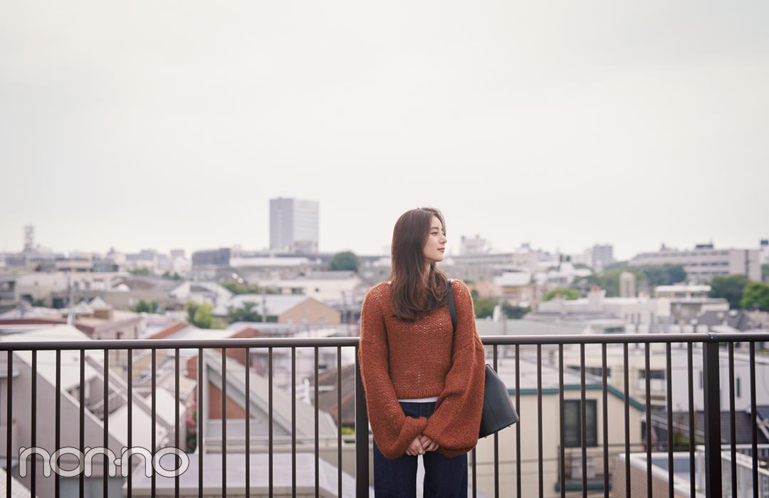 新木優子の恋とニットの物語♡ 「君」は先輩からの告白を受ける?【ニットを着るなら、エモいほう。vol.5】_1_7