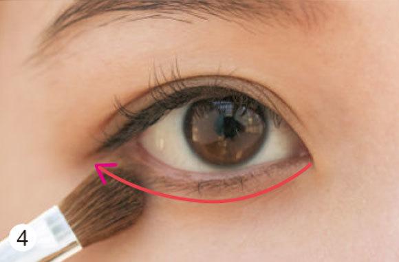 目が左右非対称さんの場合★タイプ別「デカ目」になる方法③ _1_4-2