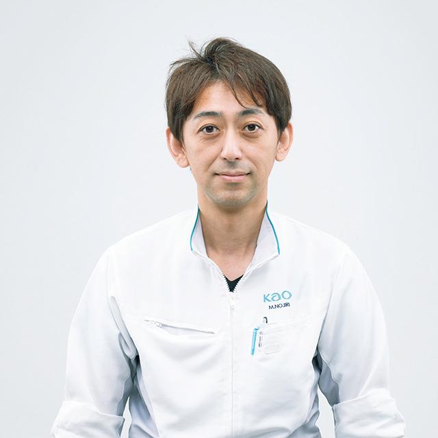 花王 研究員 野尻昌良さん
