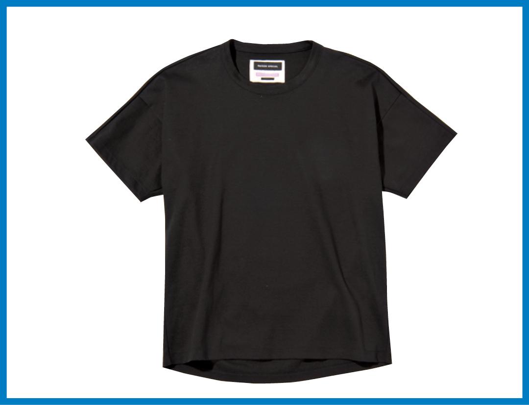 馬場ふみかが着る♡ 黒のシンプルTシャツの新鮮コーデ4選!_1_2