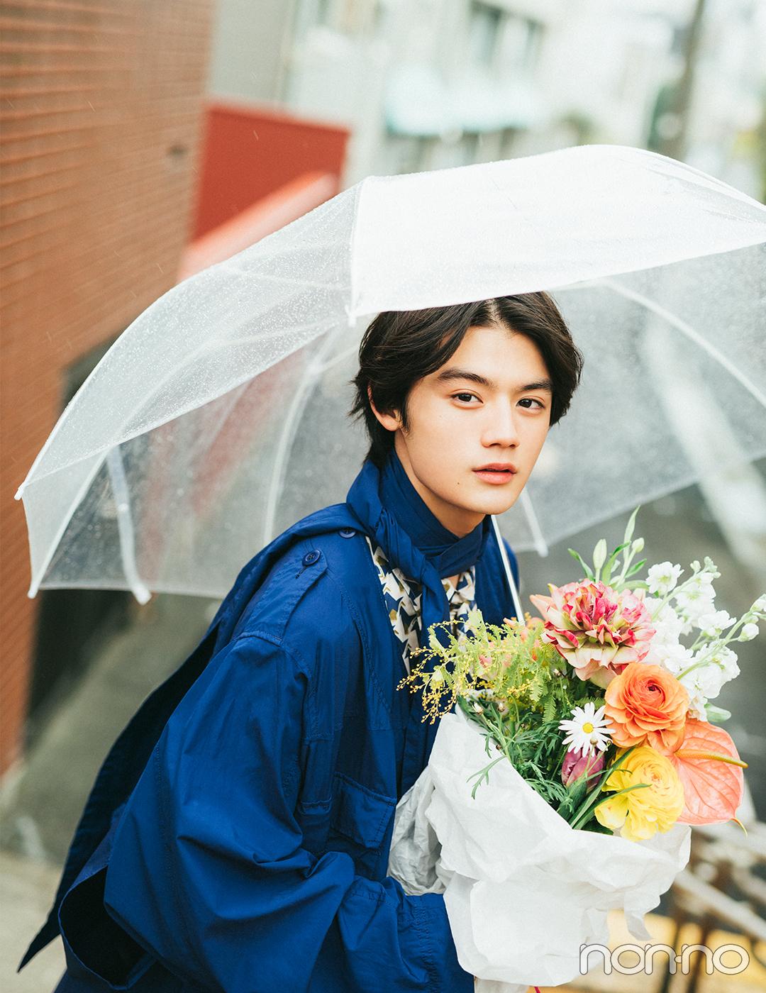 今月の彼氏。藤原大祐さんとのデートの帰り道。