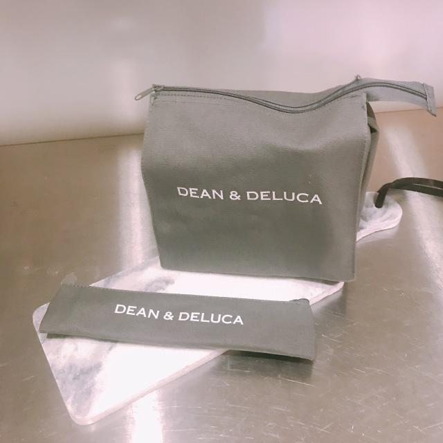 DEAN&DELUCAランチバッグとカトラリーケース♡_1_4-3