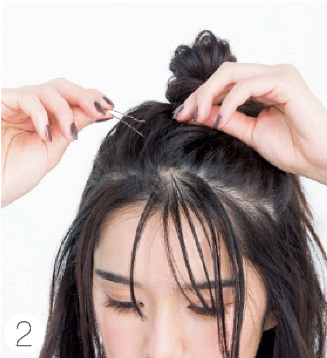 ダウンヘアの前髪アレンジは「サイド残しのおでこだし」が今っぽ♡ _1_5-2
