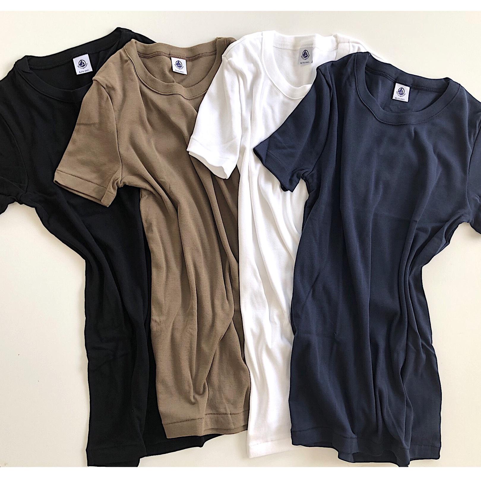 私の定番 プチバトーのTシャツ_1_1