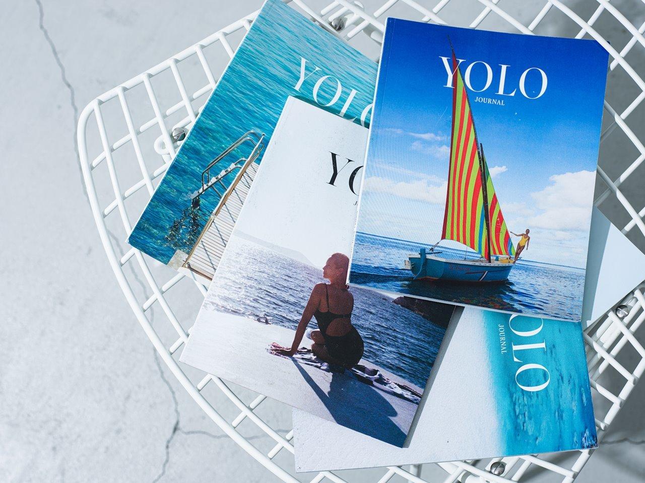 ロンハーマン『YOLO JOURNAL』コラボマガジン