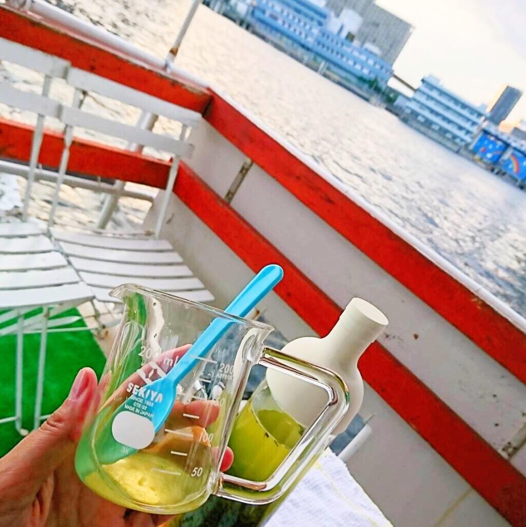 日本茶とアロマと音楽と東京湾と♡_1_2-2