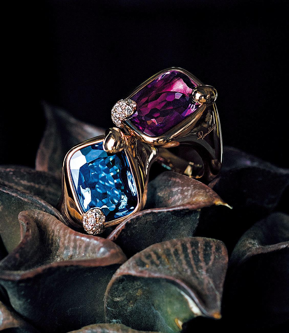 光あふれる季節こそ、本物の輝きを。カラーで遊ぶ色石リング_1_1-1