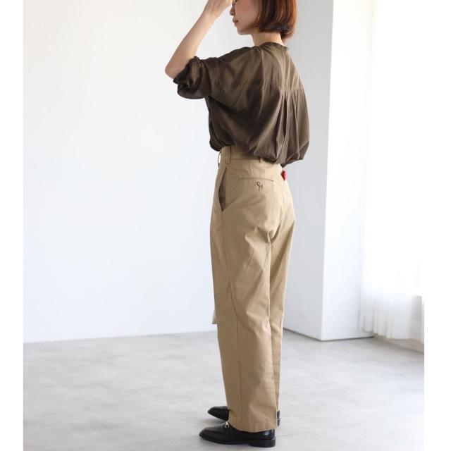 秋色シアーシャツでマニッシュコーデ【tomomiyuコーデ】_1_7